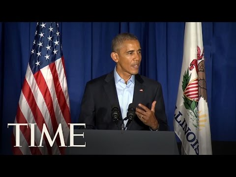 President Barack Obama Comments On 2005 Trump Recording   TIME