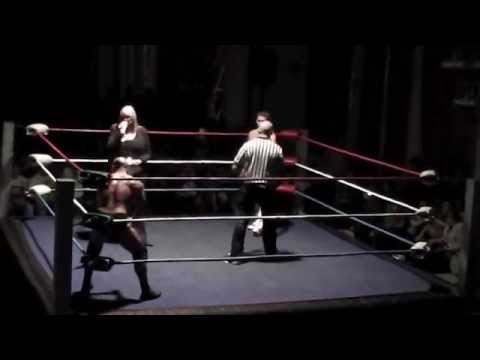 RUSSIAN CHAIN MATCH Dean Allmark vs Robbie Dynamite from Rhyl 25/8/2015 ASW UK