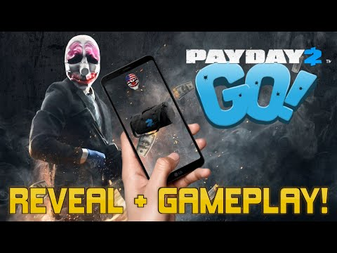 NEW PAYDAY MOBILE GAME? [Payday GO Reveal + Gameplay!]