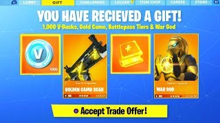 *NEW* GIFT SKINS IN FORTNITE SEASON 5! (RELEASE DATE!)