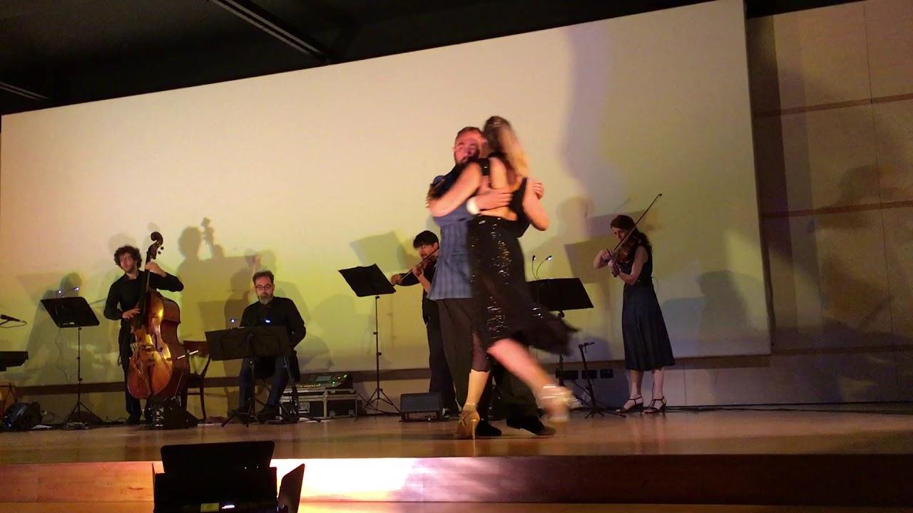 Esibizione Emiliano Casalli e Anotonellina Miorelli con Tango Spleen a Padova