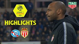 RC Strasbourg Alsace - AS Monaco ( 2-1 ) - Highlights - (RCSA - ASM) / 2018-19