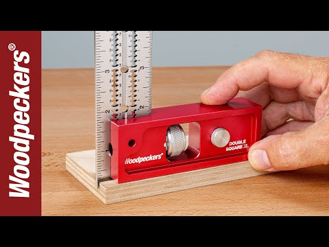 Combination & Double Squares For Easier Woodworking | Woodpeckers Tools