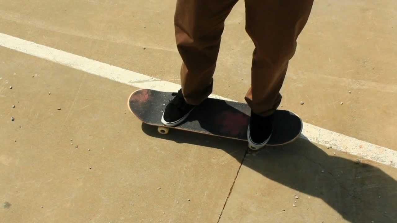 HOW TO VARIAL KICKFLIP THE EASIEST WAY TUTORIAL Braille Skateboarding