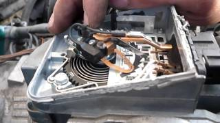 BMW e28 m30b28  скрываем целковый ДМРВ и регулируем ДВС