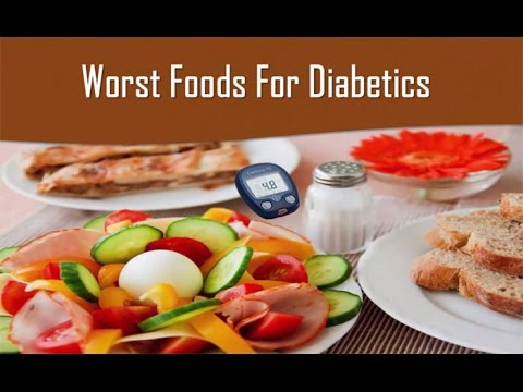 Diabetes Foods To Avoid - Worst Foods For Diabetes