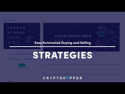 How to Trade Automaticly with Marketplace Strategies – Cryptohopper