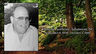 Donald Adamson Keepsake Video