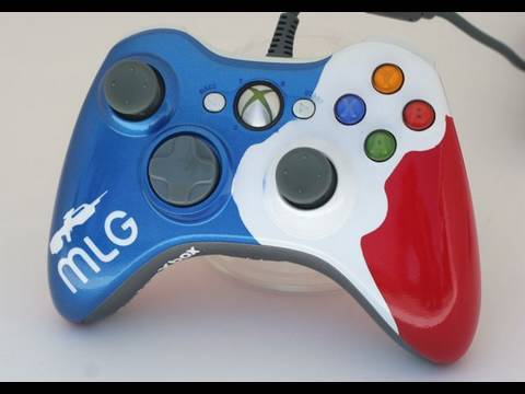How to Paint a Gamer Controller Part 1 By MyCustomXbox