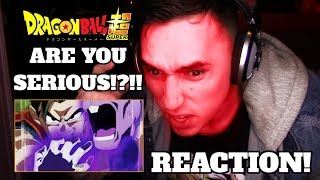 WAIT WHAT!! THIS IS BULLSH!T!!| Dragon ball Super Episode 124 RAGE REACTION!!