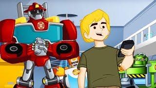 Сборник мультиков Боты Спасатели: приключения роботов на Земле