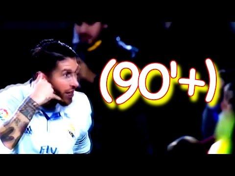 Sergio Ramos - (90+) Minute Goals