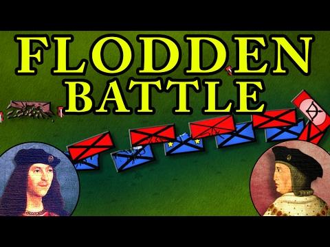 The Battle of Flodden 1513 AD