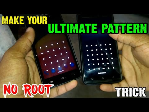 Enable Ultimate Pattern Lock On Any Android Phones || In 2 Minute Only