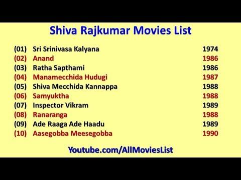 Shiva Rajkumar Movies List