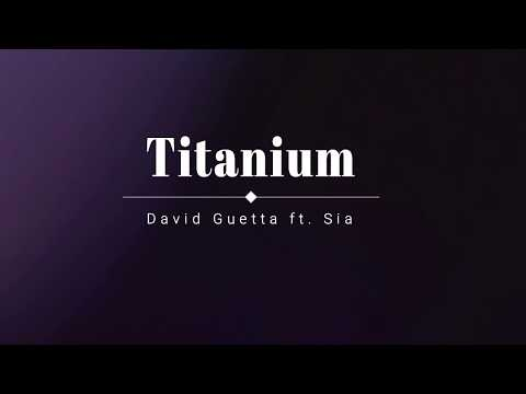 David Guetta Sia - Titanium Lyric