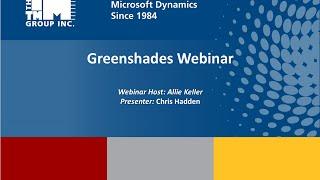 Greenshades Webinar 7/2/2015