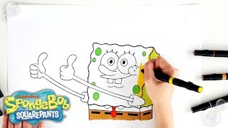 See SpongeBob show his TRUE COLORS (yellow of course). We're giving this 2 …make that 12 thumbs up!    Catch more of SpongeBob SquarePants on ...