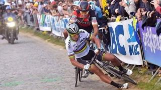 Peter Sagan Crash | Ronde van Vlaanderen | 2017