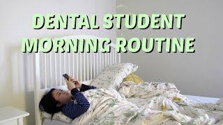 Dental Student Morning Routine || Brittany Goes to Dental School