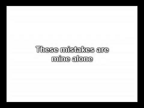 These mistakes are mine alone