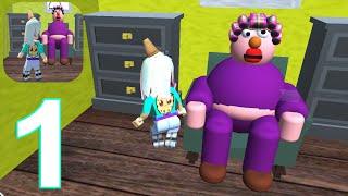 Escape Grandma Cookie Swirl M Gameplay Walkthrough Part 1 (IOS/Android) screenshot 2