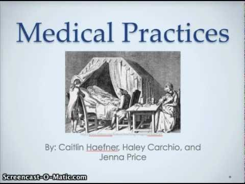 Medicine in the 18th Century