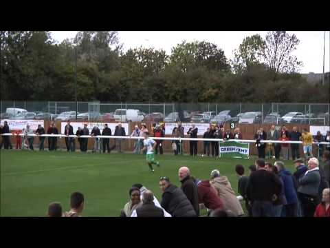 Biggleswade Town Vs Canvey Island - FA cup 4th round qualifying 26/10/2013