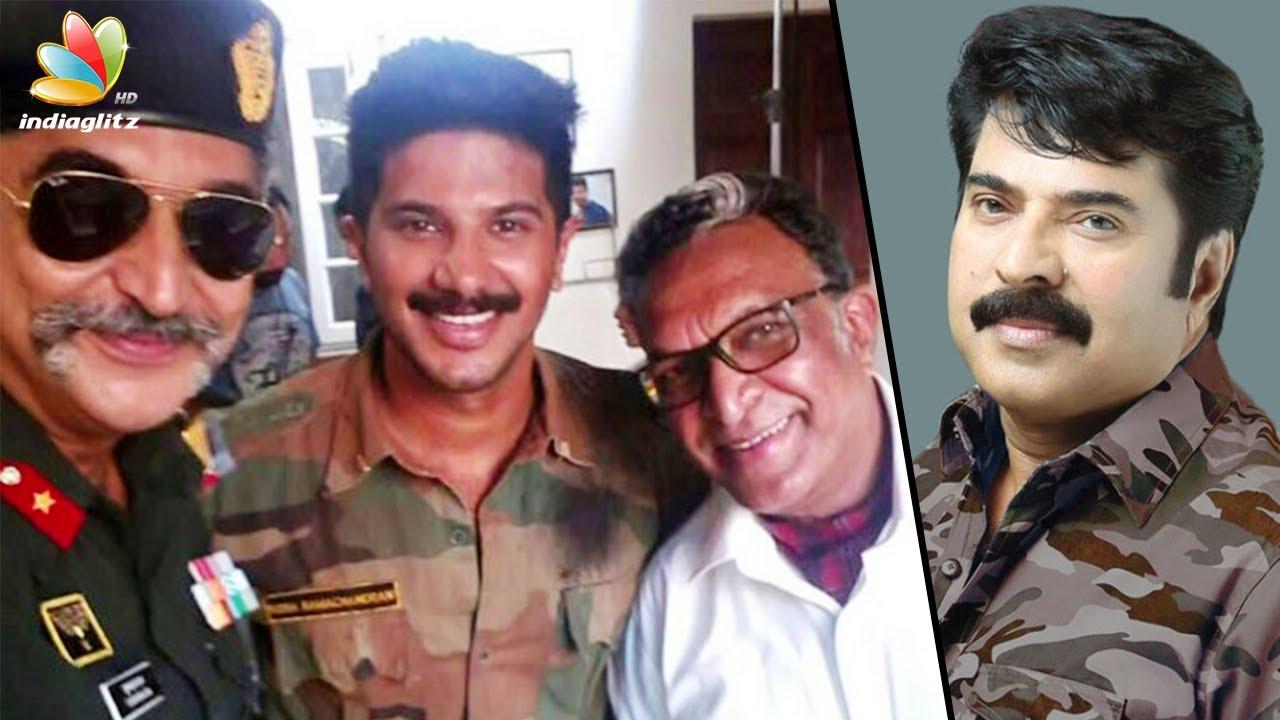 ആർമിക്കരാനായി ദുൽഖർ | Dulquer Salmaan's Army look goes viral | Solo Movie
