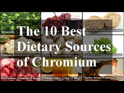 The 10 Best Dietary Sources of Chromium