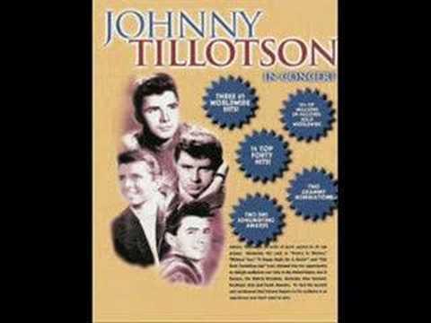 Johnny Tillotson.....Lonely street