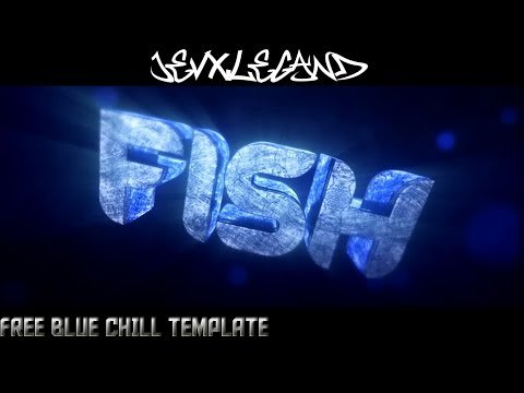 Free Blue Chill Intro Template(My Best C4D?) CuriousLife,Template Machine ReUpload This Template :O