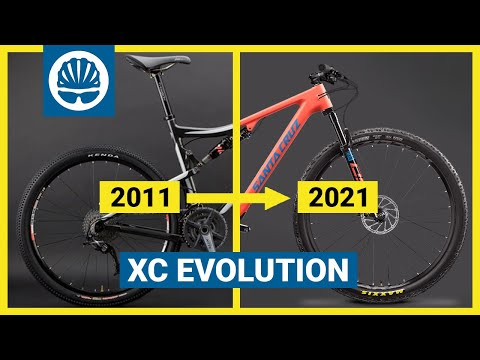How Have Cross Country Bikes Changed? | 10 Years Of XC Bikes In Under 10 Minutes