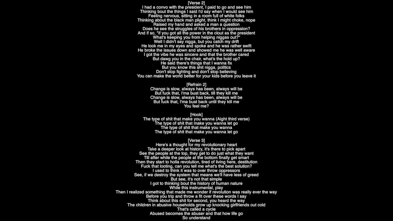 Full Lyrics High For Hours J Cole Youtube