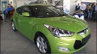 Презентация Hyundai Veloster в дилерском центре Октан В смотреть