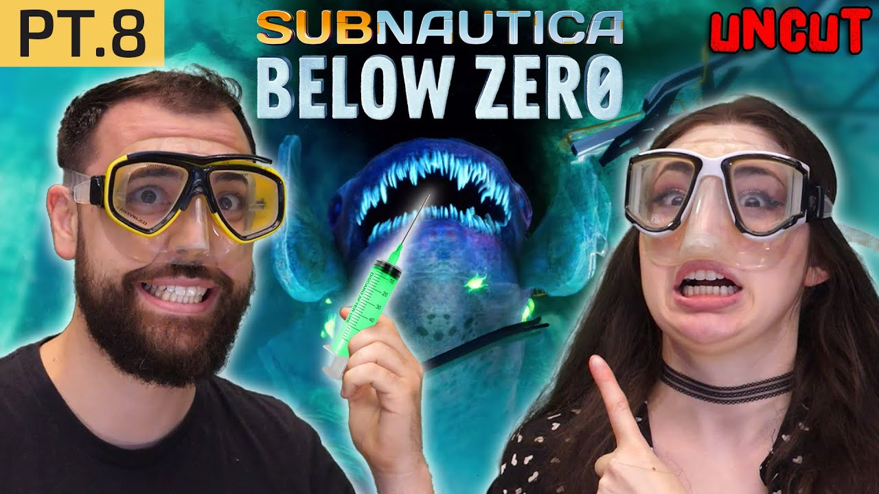 Poking The Big Frozen Leviathan... (Subnautica Below Zero pt.8 uncut)