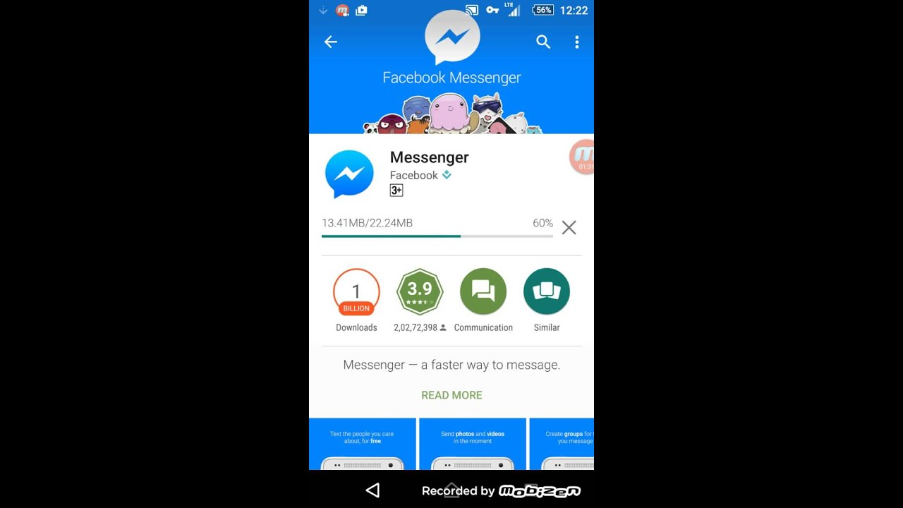 How to activate video call for Facebook messenger