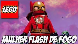 Lego Batman 3 - Flash de Fogo e Nave IRADA