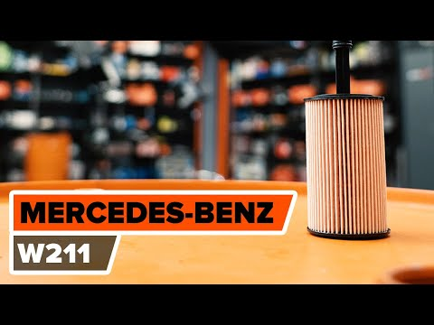 How to replace engine oil and oil filterMERCEDES BENZ E W211 TUTORIAL  AUTODOC