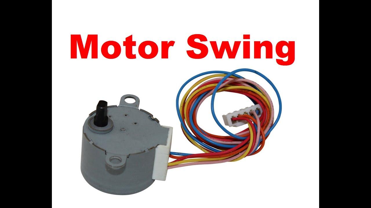 Split Ac Wiring Diagram Quickcar Switch Panel Motor Swing (flap) Aire Acondicionado - Reparación Youtube