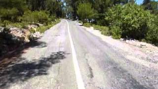 cyprus motor trip honda cub 70 part 1