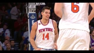 Willy Hernangomez Displays Beautiful Up and Under Move vs Kings | 12.04.16