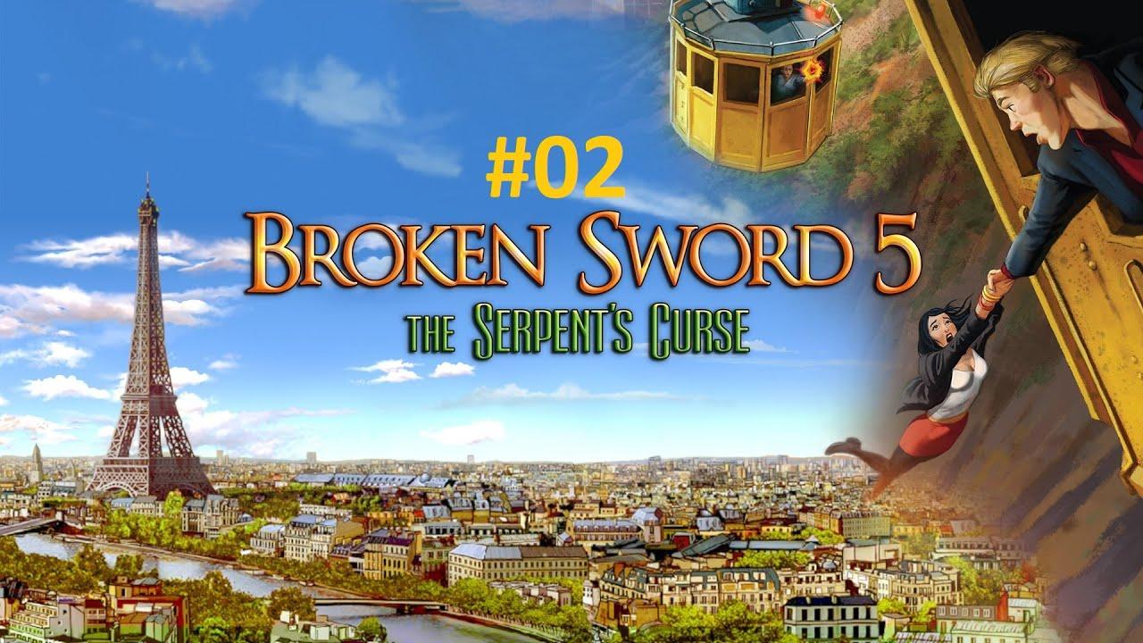 Zagrajmy w Broken Sword 5: Klątwa węża PL [#2]: Pij, sierżancie Moue!