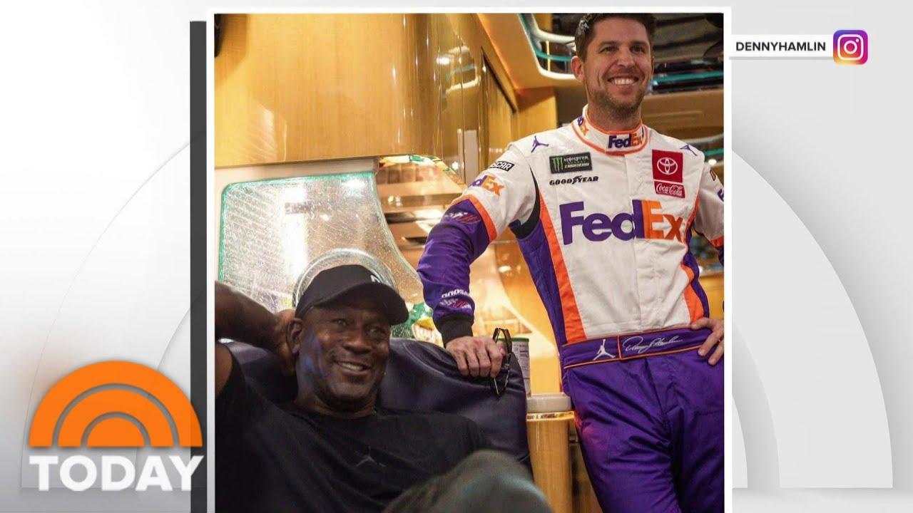 Michael Jordan, Denny Hamlin Form NASCAR Team With Bubba ...