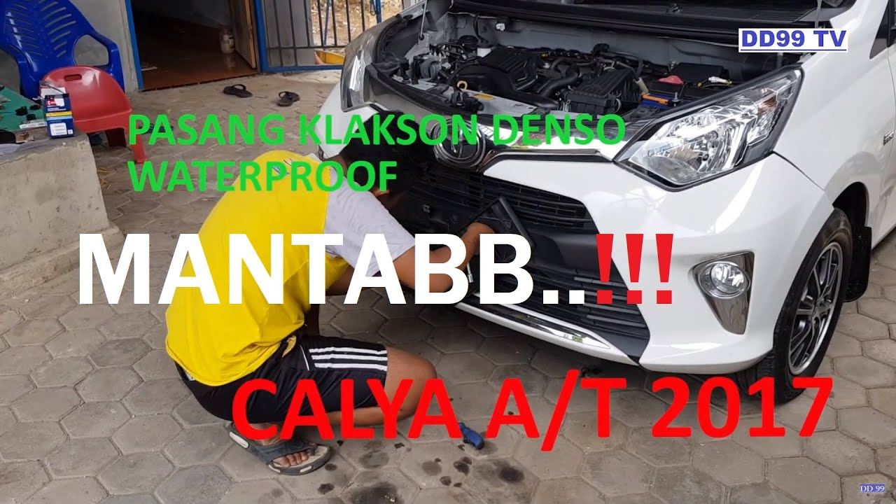 how to install Denso Waterproof Horn in LCGC Car Toyota Calya Daihatsu Sigra Wiring Diagram on