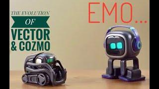 EMO Ai DESKTOP PET... THE EVOLUTION OF VECTOR & COZMO - First contact