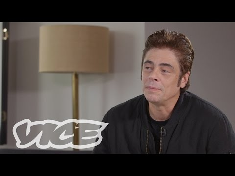 Download Youtube: VICE Talks 'Sicario' with Benicio Del Toro
