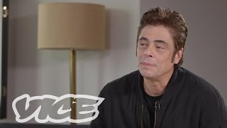 VICE Talks 'Sicario' with Benicio Del Toro