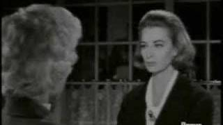 Barbara Stanwyck b****slaps Capucine