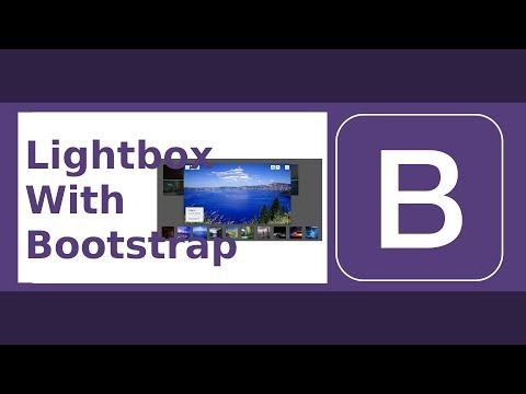 Lightbox Gallery With Bootstrap